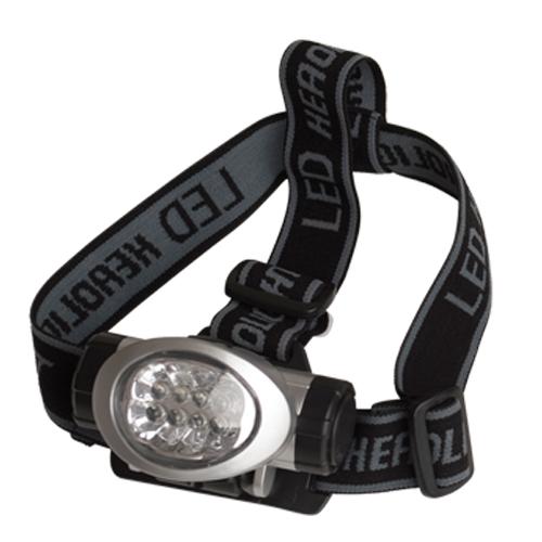 Linterna cabeza 8 LED