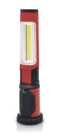 linterna LED 3w abatible con iman y base de carga - ledcoste.com