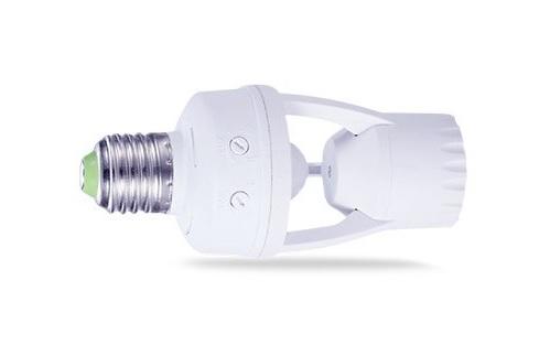 porta lamparas E27 con sensor de movimiento ledcoste.com