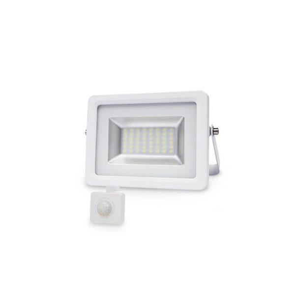 Proyector-LED-con-sensor-10W-6000K-IP65-Blanco-ledcoste