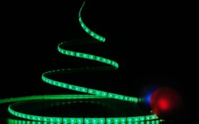 Ilumina la Navidad con tiras LED